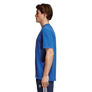 adidas Originals Trefoil T-Shirt Herren blau weiß CW0703 – Bild 4