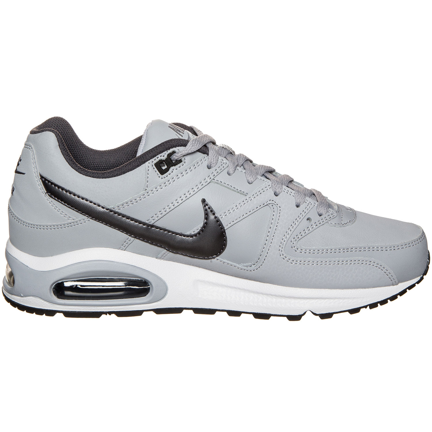 Nike Air Max Command Leather Herren Sneaker grau weiß 749760 012