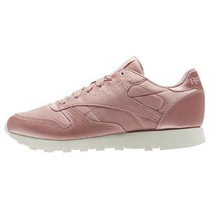 Reebok Classic Leather Satin Damen Sneaker chalk pink CM9800 – Bild 2