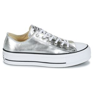 Converse CT AS LIFT OX Chuck Taylor All Star 560248C silber weiß – Bild 1