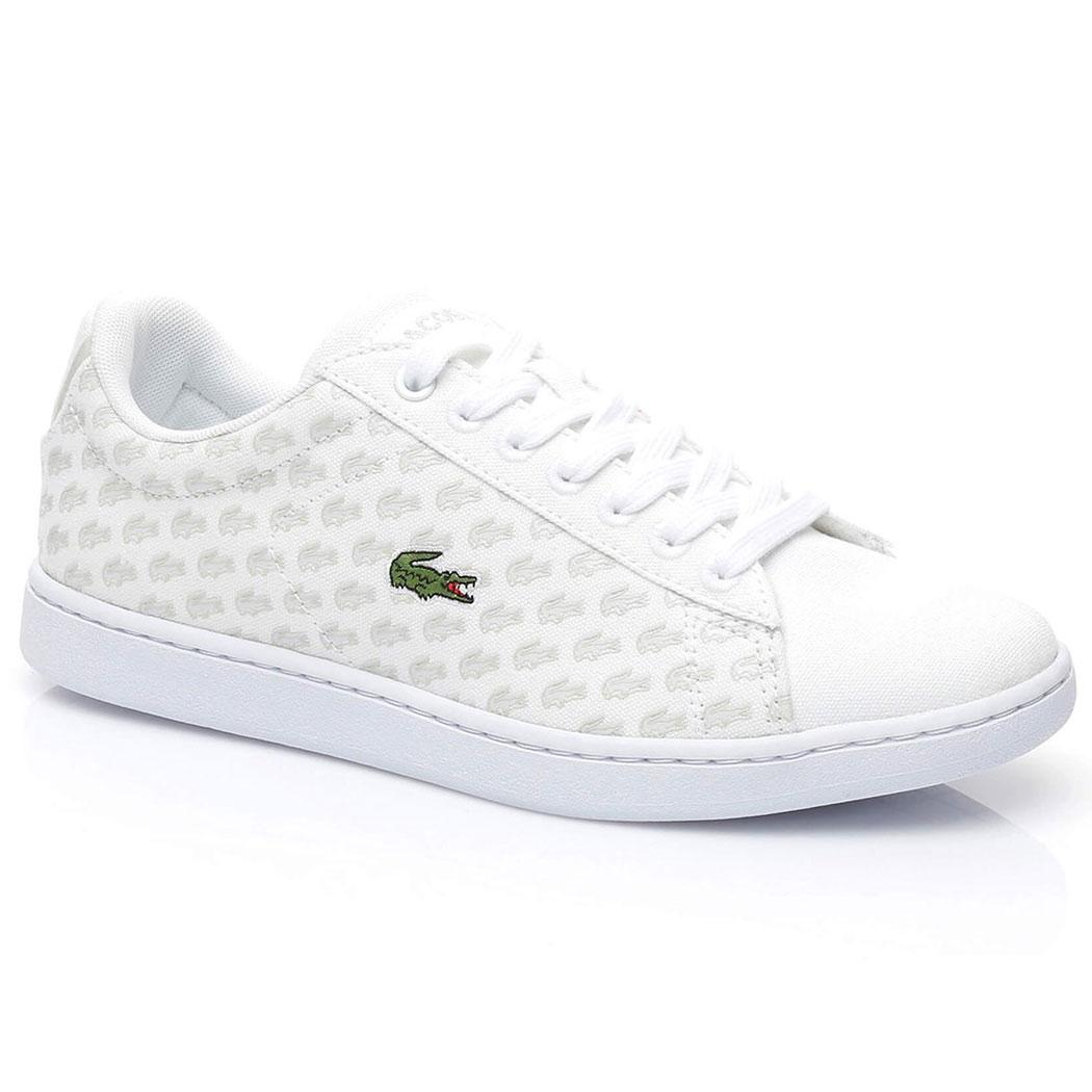 »Carnaby Evo« Sneaker, weiß, weiß Lacoste