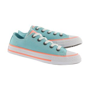 Converse Youth All Star OX Chucks Kinder bleached aqua 660732C – Bild 4
