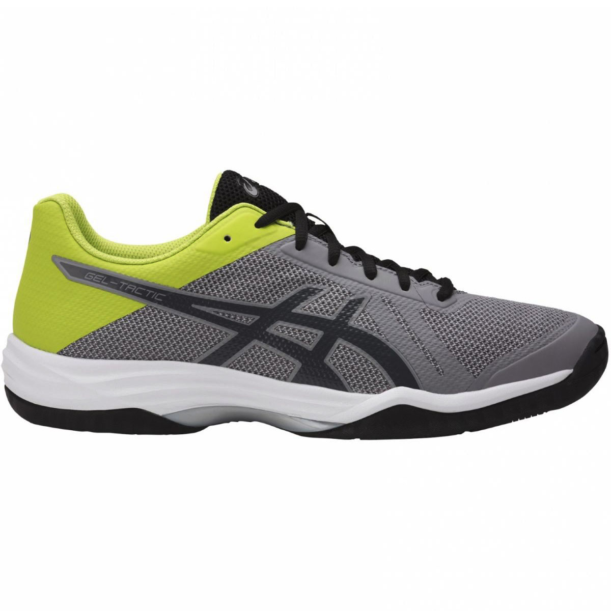 Asics Gel-Tactic Herren Volleyballschuhe grey energy green B702N-9695