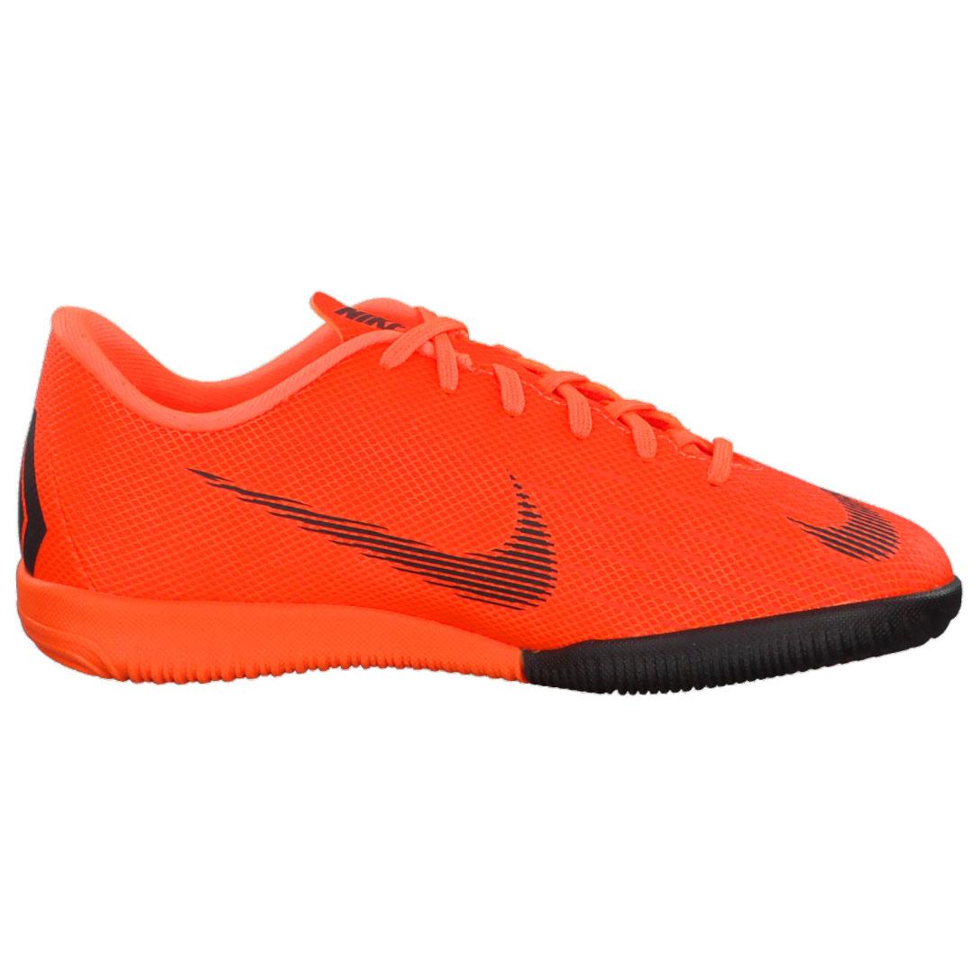 Nike JR Vapor X 12 Academy GS IC Hallenschuhe neon orange AJ3101 810