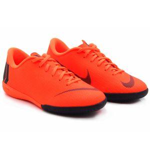 Nike JR Vapor X 12 Academy GS IC Hallenschuhe neon orange AJ3101 810 – Bild 2