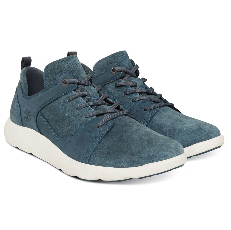 d3d46de6134673 Timberland Flyroam Leather Herrenschuh blau A1OBS – Bild 2