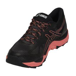 Asics Gel-FujiTrabuco 6 G-TX Damen Laufschuhe schwarz pink T7F5N-9006 – Bild 3
