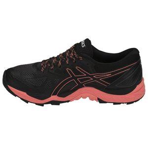 Asics Gel-FujiTrabuco 6 G-TX Damen Laufschuhe schwarz pink T7F5N-9006 – Bild 2