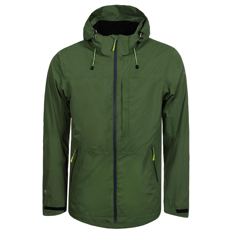 Icepeak Sahar Jacket Herrenjacke Regenjacke grün 9/56 231 527I 550