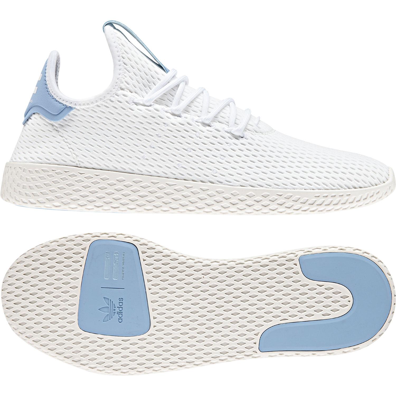 d5be3e027d9437 adidas Originals PW Tennis HU Sneaker weiß blau CQ2167 – Bild 3
