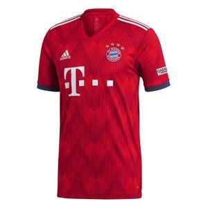 adidas FC Bayern München Home Jersey Trikot rot 18/19 Herren CF5433 – Bild 1