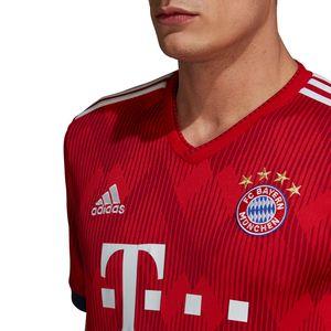 adidas FC Bayern München Home Jersey Trikot 18/19 Kinder rot CF5429   – Bild 6