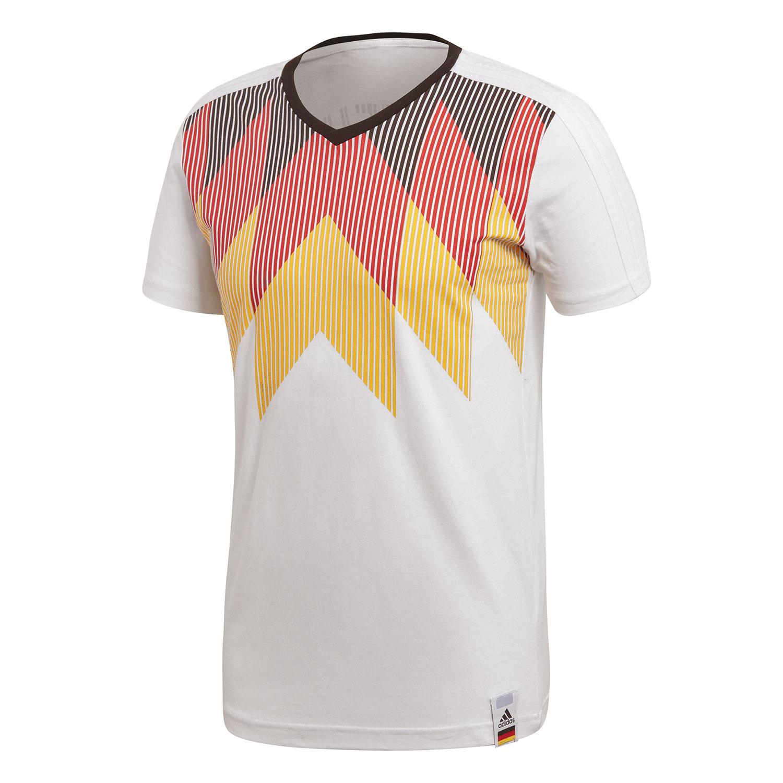 adidas Germany CI Tee Herren DFB Fanshirt weiß CF1734