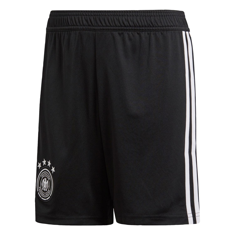 adidas DFB Homeshort WM 2018 Kinder schwarz BQ8465