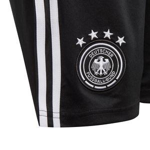 adidas DFB Homeshort WM 2018 Kinder schwarz BQ8465  – Bild 3