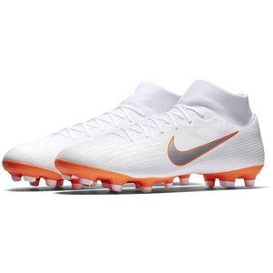 Nike Superfly VI Academy MG Fussballschuhe weiß orange AH7362 107 – Bild 2