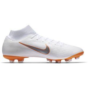 Nike Superfly VI Academy MG Fussballschuhe weiß orange AH7362 107 – Bild 1
