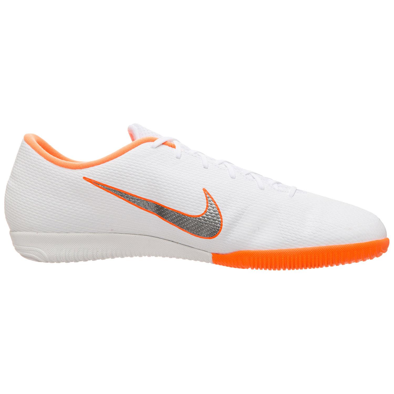 Nike VaporX 12 Academy IC Herren Hallenschuhe weiß orange AH7383 107