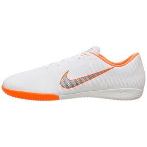 Nike VaporX 12 Academy IC Herren Hallenschuhe weiß orange AH7383 107 – Bild 2