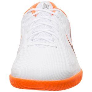 Nike VaporX 12 Academy IC Herren Hallenschuhe weiß orange AH7383 107 – Bild 4