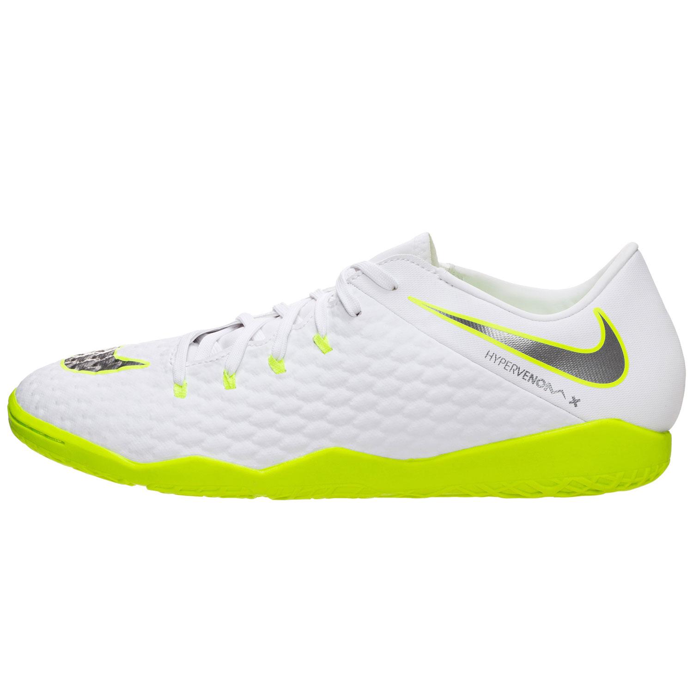 innovative design 817d4 07962 Nike PhantomX 3 Academy IC Herren Hallenschuhe weiß grün AJ3814 107
