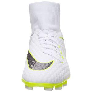 Nike Hypervenom Phantom 3 Academy DF FG Herren Fußballschuhe weiß grün – Bild 3