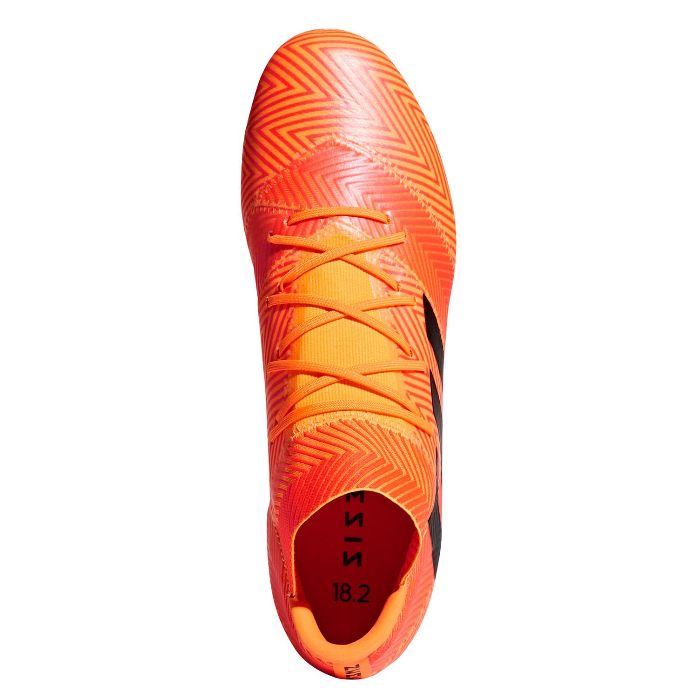 best service ca299 9c97f adidas Fussballschuhe Nemeziz 18.2 FG Herren DA9580 orange schwarz rot –  Bild 4