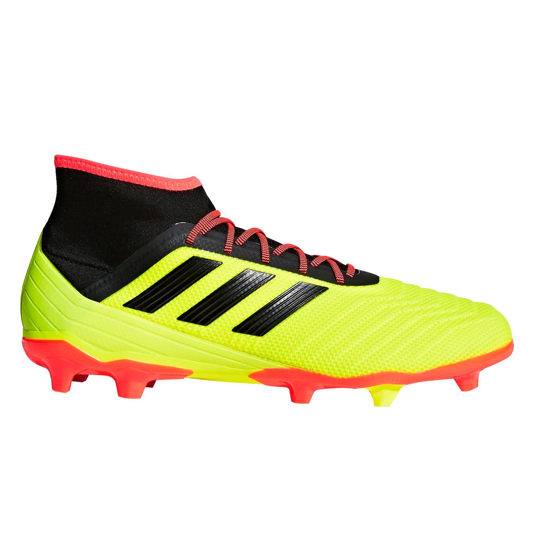 running shoes first rate exclusive shoes adidas Predator 18.2 FG Herren Fußballschuhe DB1997 gelb schwarz