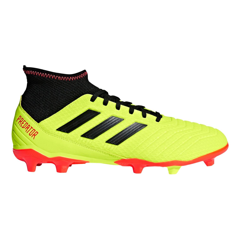 quality design 43df4 b88ec adidas Predator 18.3 FG Herren Fußballschuhe gelb schwarz rot DB2003