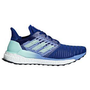 adidas Solar Boost W Damen Lauf Runningschuh blau grün BB6602 – Bild 1