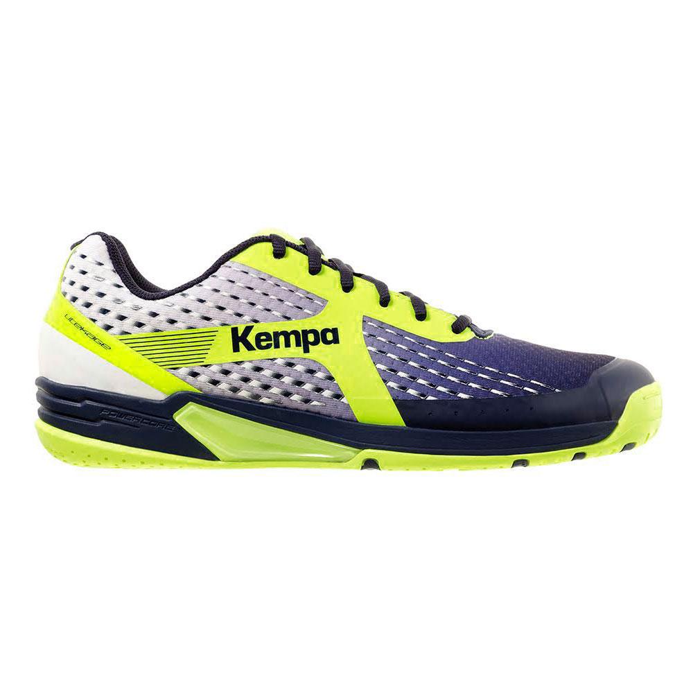 Kempa Wing Herren Handballschuhe navy yellow 200849404
