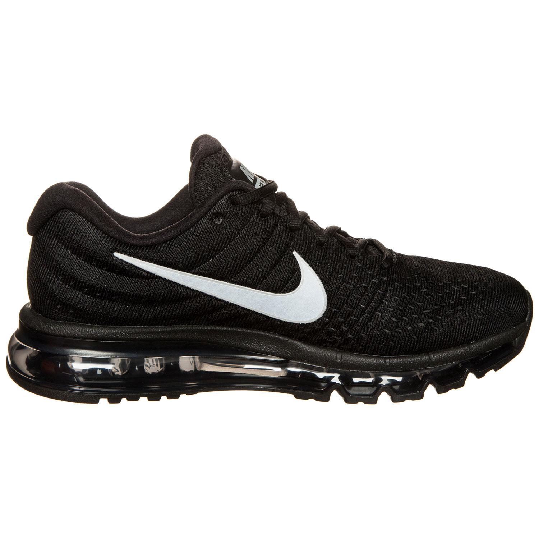 best value 22c14 e2d04 Nike Air Max 2017 Herren Sneaker schwarz silber 849559 001