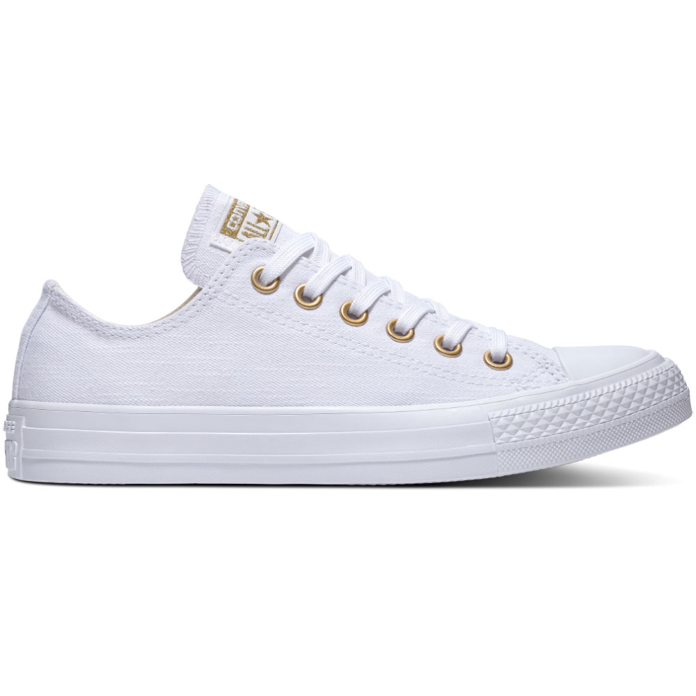 converse ct as ox chuck taylor all star wei gold 560643c. Black Bedroom Furniture Sets. Home Design Ideas