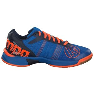Kempa Attack Three Contender Handballschuhe blau neon orange 200850503 – Bild 1
