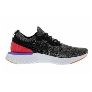 Nike Epic React Flyknit Herren Runningschuhe grau weiß rot AQ0067 006 – Bild 1
