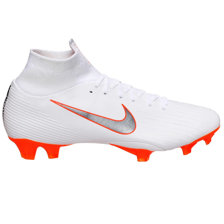 bbfe1b4c043f66 Nike Superfly 6 Pro FG Herren Fußballschuhe weiß orange AH7368 107