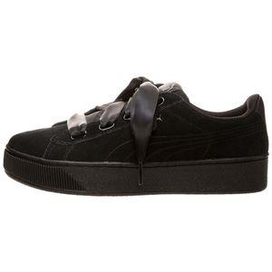 Puma Vikky Platform Ribbon S Damen Sneaker puma black 366418 01 – Bild 2