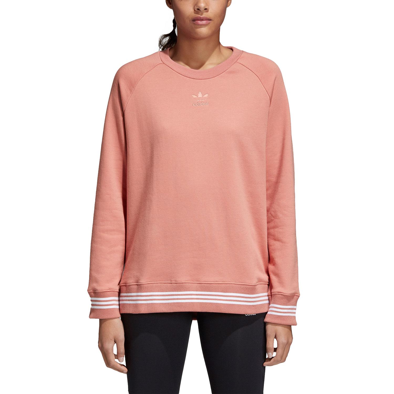 size 40 99b63 d5a78 adidas Originals Sweater Pullover Damen rosa CD6903