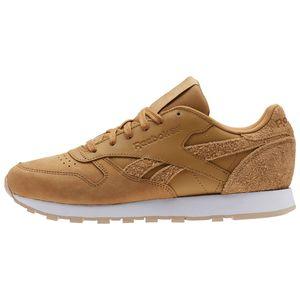 Reebok Classic Leather Damen Sneaker beige braun CN2962 – Bild 2