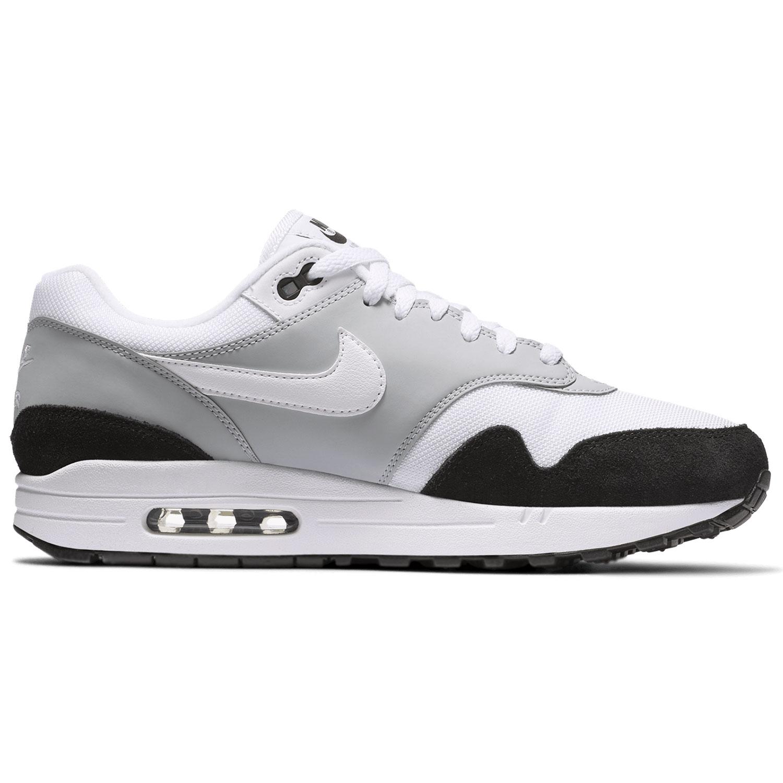 Nike Air Max 1 Herren Sneaker weiß grau schwarz AH8145 003