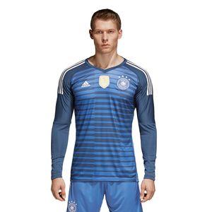 adidas DFB Home Goalkeeper Jersey Herren WM 2018 blau BR7831 – Bild 2