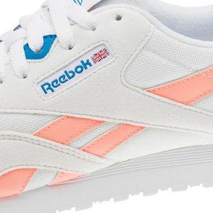 Reebok Classic Nylon M TXT Damen Sneaker weiß rosa CN2966 – Bild 3