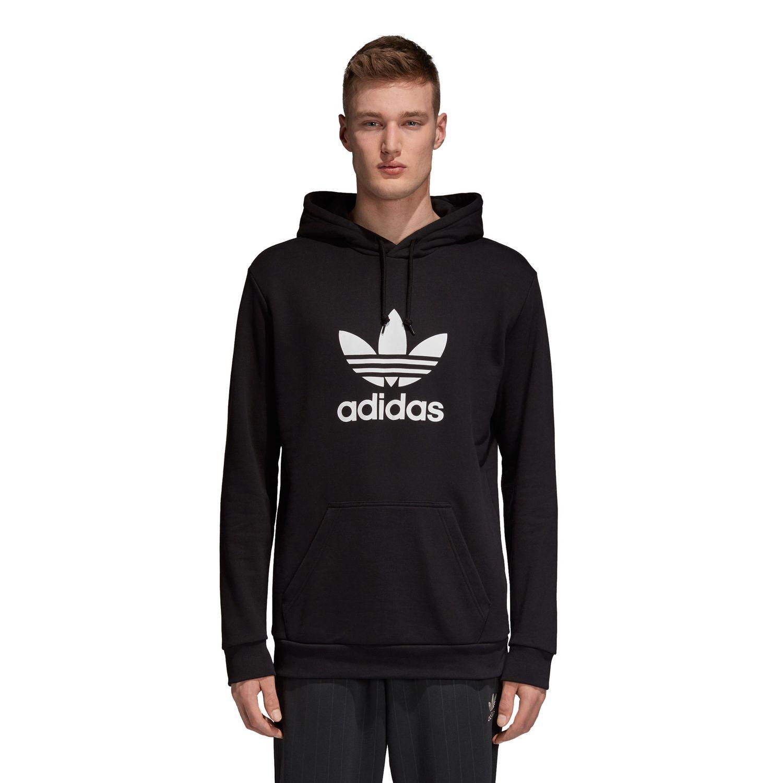 adidas Originals Trefoil Hoodie Herren schwarz weiß DT7964