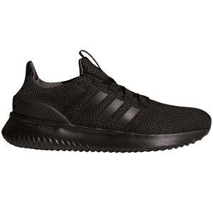 adidas neo Cloudfoam Ultimate Herren Sneaker schwarz BC0018 – Bild 1