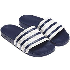 adidas Originals Adilette Badeschuhe blau weiss G16220 – Bild 7
