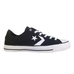 Converse Star Player OX Herren Sneaker schwarz weiß 161595C – Bild 1