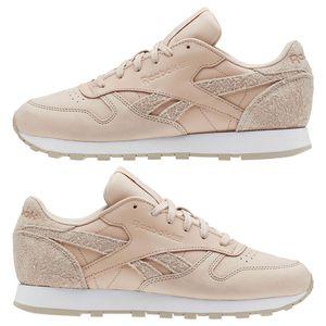 Reebok Classic Leather Damen Sneaker beige CN2960 – Bild 4