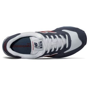 New Balance ML574ESC Herren Sneaker 638591-60-10 blau weiß rot – Bild 3