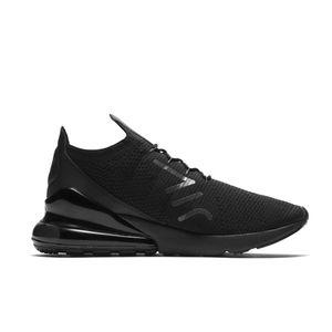 Nike Air Max 270 Flyknit Herren Sneaker schwarz grau AO1023 005 – Bild 1