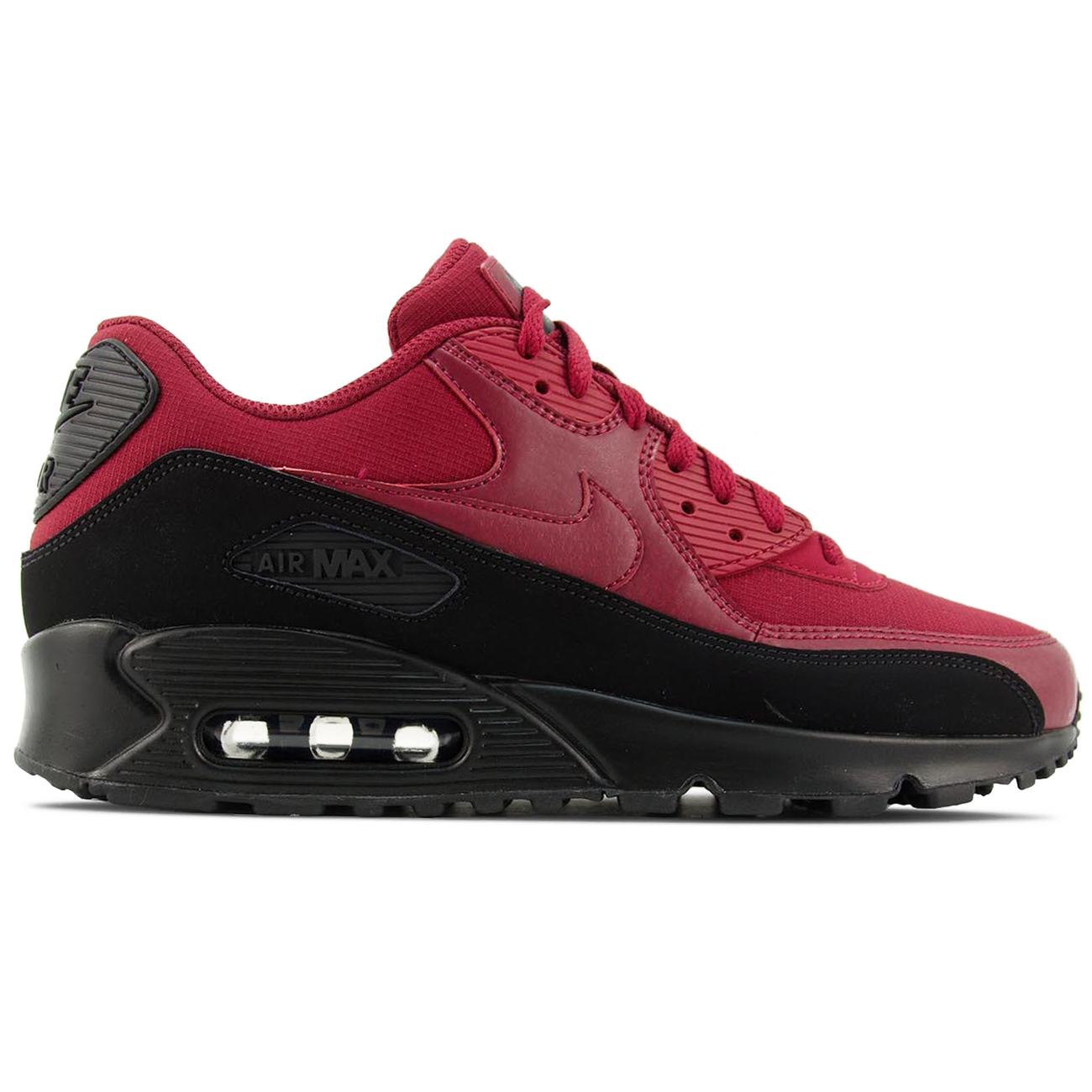 Nike Air Max 90 Essential Herren Sneaker black red crush AJ1285 010
